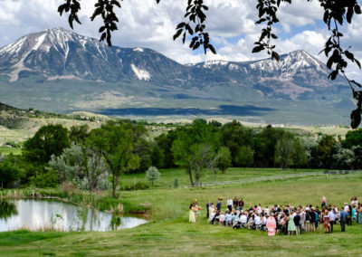 Colorado Mountain Wisehart Springs Inn Wedding