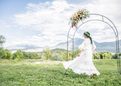 Western Colorado Wedding Wisehart Springs Inn